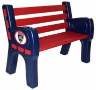 Florida Panthers Park Bench