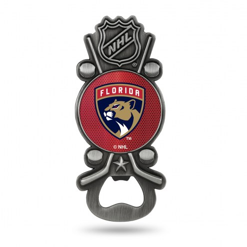 Florida Panthers Party Starter Bottle Opener