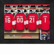 Florida Panthers Personalized 11 x 14 Framed Photograph