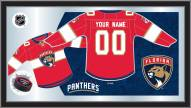 Florida Panthers Personalized Jersey Mirror