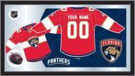 Florida Panthers Personalized Jersey Mirror