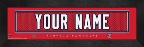 Florida Panthers Personalized Stitched Jersey Print