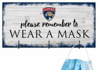 Florida Panthers Please Wear Your Mask Sign