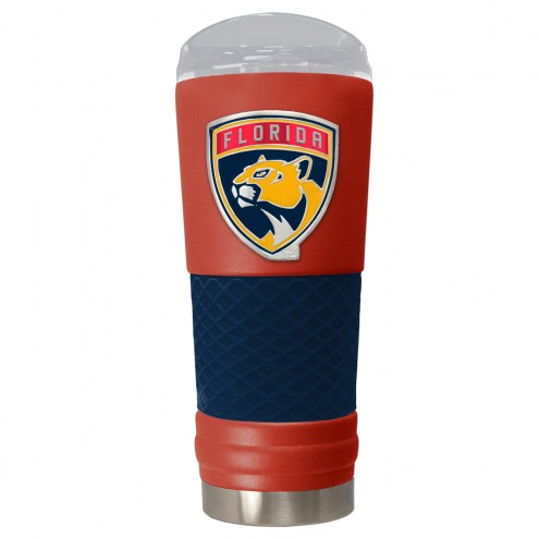 Florida Panthers Red 24 oz. Powder Coated Draft Tumbler