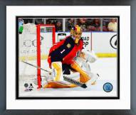 Florida Panthers Roberto Luongo 2014-15 Action Framed Photo