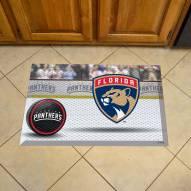 Florida Panthers Scraper Door Mat