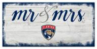 Florida Panthers Script Mr. & Mrs. Sign