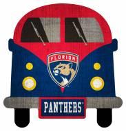 Florida Panthers Team Bus Sign