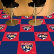 Florida Panthers Team Carpet Tiles