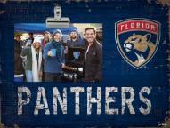 Florida Panthers Team Name Clip Frame