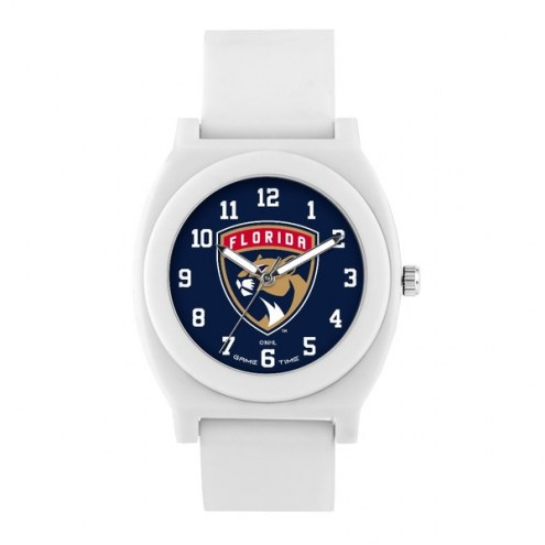 Florida Panthers Unisex Fan White Watch