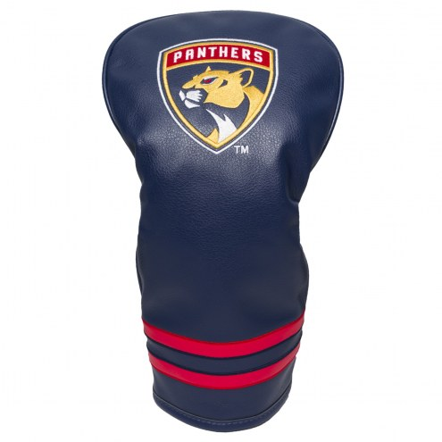 Florida Panthers Vintage Golf Driver Headcover