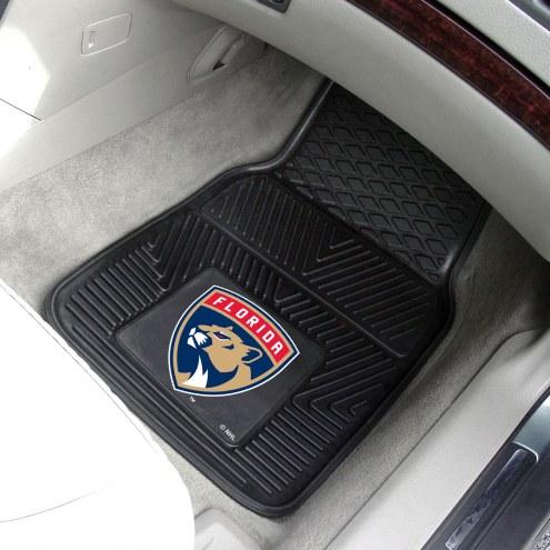 Florida Panthers Vinyl 2-Piece Car Floor Mats