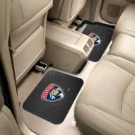 Florida Panthers Vinyl 2-Piece Rear Floor Mats