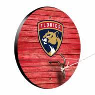 Florida Panthers Weathered Design Hook & Ring Game
