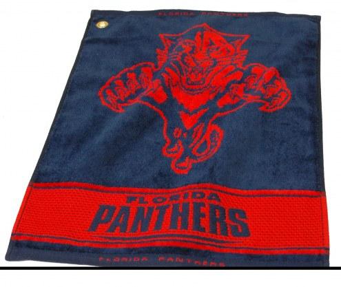 Florida Panthers Woven Golf Towel