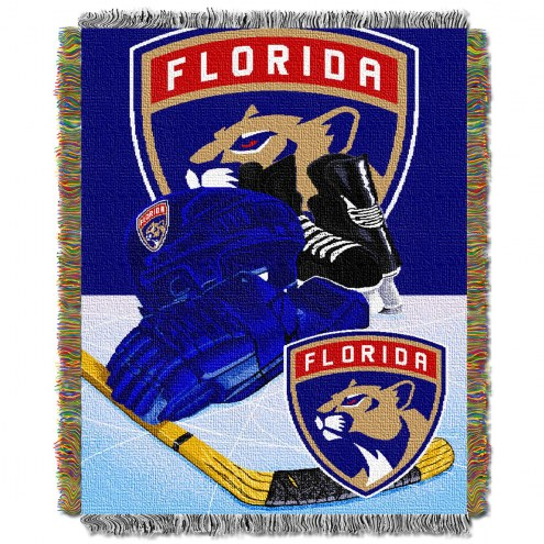 Florida Panthers Woven Tapestry Throw Blanket