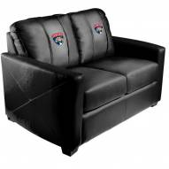 Florida Panthers XZipit Silver Loveseat
