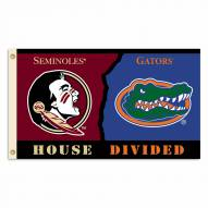 Florida State/Florida 3' x 5' House Divided Flag