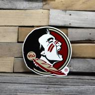"Florida State Seminoles 12"" Steel Logo Sign"