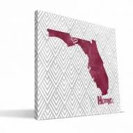 "Florida State Seminoles 12"" x 12"" Home Canvas Print"