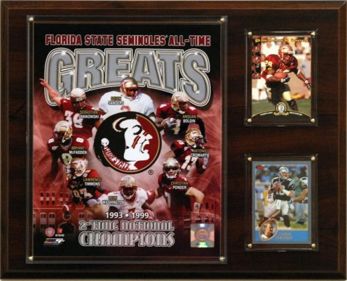 "Florida State Seminoles 12"" x 15"" All-Time Greats Photo Plaque"