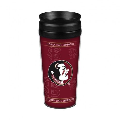 Florida State Seminoles 14 oz. Full Wrap Travel Mug
