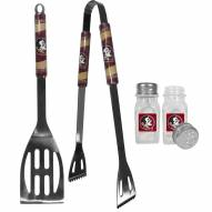 Florida State Seminoles 2 Piece BBQ Set with Salt & Pepper Shakers