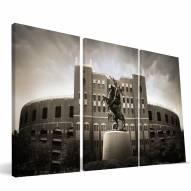"""Florida State Seminoles 24"""" x 48"""" Stadium Canvas Print"""