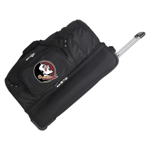 "Florida State Seminoles 27"" Drop Bottom Wheeled Duffle Bag"
