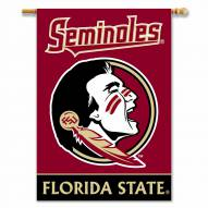 """Florida State Seminoles 28"""" x 40"""" Two-Sided Banner"""