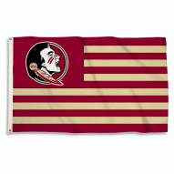 Florida State Seminoles 3' x 5' Stripes Flag