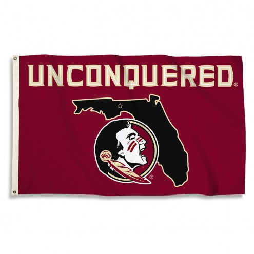 Florida State Seminoles 3' x 5' Unconquered Flag
