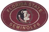 "Florida State Seminoles 46"" Heritage Logo Oval Sign"