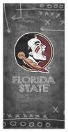 "Florida State Seminoles 6"" x 12"" Chalk Playbook Sign"