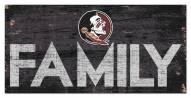 "Florida State Seminoles 6"" x 12"" Family Sign"