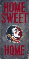 """Florida State Seminoles 6"""" x 12"""" Home Sweet Home Sign"""