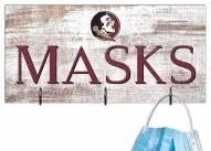 "Florida State Seminoles 6"" x 12"" Mask Holder"