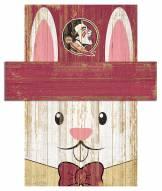 "Florida State Seminoles 6"" x 5"" Easter Bunny Head"