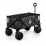 Florida State Seminoles Adventure Wagon with All-Terrain Wheels