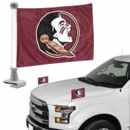 Florida State Seminoles Ambassador Hood & Trunk Car Flag