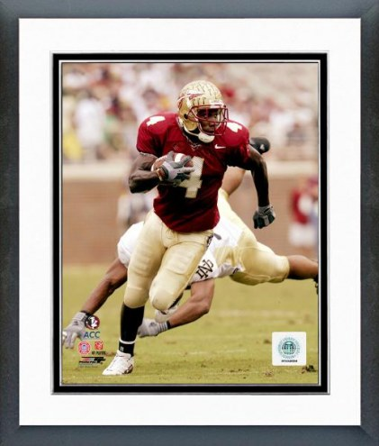 Florida State Seminoles Anquan Boldin 2002 Action Framed Photo