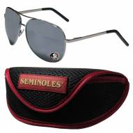 Florida State Seminoles Aviator Sunglasses and Sports Case