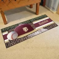 Florida State Seminoles Baseball Runner Rug