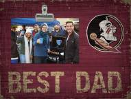 Florida State Seminoles Best Dad Clip Frame