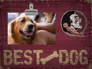Florida State Seminoles Best Dog Clip Frame