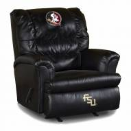 Florida State Seminoles Big Daddy Leather Recliner