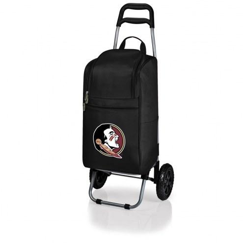 Florida State Seminoles Black Cart Cooler