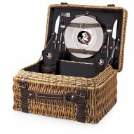Florida State Seminoles Black Champion Picnic Basket