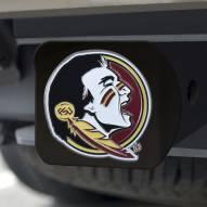 Florida State Seminoles Black Color Hitch Cover